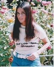 Ali MacGraw Love Story autographed 8x10 photo with COA by CHA