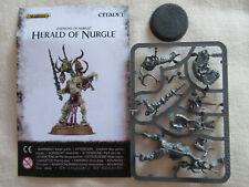 Chaos Poxbringer Herald Of Nurgle *Warhamme 40,000* Games Workshop