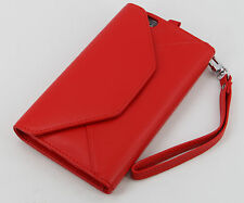 """New Genuine Skin Leather Flip Wallet Case with coin pocket for iphone  6 5.5"""""""