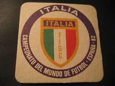 ITALIA. POSAVASOS CAMPEONATO MUNDIAL DE FUTBOL ESPAÑA 82