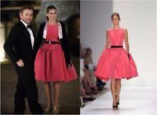 Oscar de la Renta Pink Silk Faille Dress (US 4) NWT featured on Sex & The City