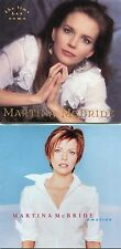 """MARTINA McBRIDE Lot of 2 CDs """"The Time Has Come"""" AND """"Emotion"""" -Ships Free!"""