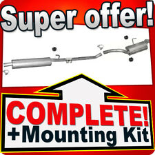 PEUGEOT EXPERT I 2.0 HDI LWB-Long 07.2001-04.2005 Exhaust System T74C