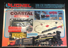 Vintage Lionel Coastal Limited 027 train set 6-11742. Open Box With Extras