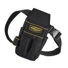 Electrical Tool Bag Waist Hanging Belt Bags Electrician Carpenter Black A