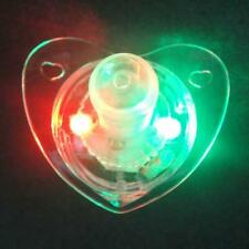 Flashing Led Multi Color Mouth Glow Pacifier Lights Toys Party Fun Favor G2M5
