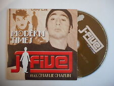 J - FIVE feat. CHARLIE CHAPLIN : MODERN TIMES [ CD SINGLE ] ~ PORT GRATUIT