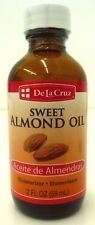 De La Cruz Sweet Almond OIL ( aceite de almendra) 2 OZ