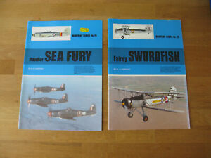 warpaint series 16 hawker sea fury & 12 fairey swordfish model kit research