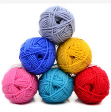 Sale 83 Colors knitting Crochet soft Baby Milk cotton fiber yarn 50g ball lot