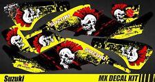 Kit Déco Quad / Atv Decal Kit Suzuki LTZ 400 - Punk Skull