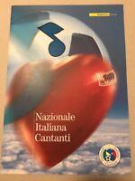 FOLDER 2006   NAZIONALE ITALIANA CANTANTI  VALORE FACCIALE € 8,00
