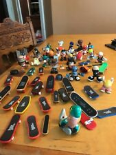 Tech Deck Dude Skate Crew Lot With Boards Vintage B30. Huge Lot