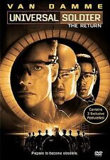 Universal Soldier: The Return (DVD, 1999, Closed Captioned)  New/Sealed