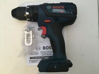 """New Bosch HDS181 18V 1/2"""" Compact Tough Hammer Drill Driver Cordless HDS181AB"""