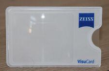Zeiss VisuCard Lupe Scheckkartenlupe Vergrößerung Taschenlupe Leselupe