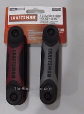 CRAFTSMAN 2pc. Standard and Metric Dual Material Fold Up Hex Key Set 46006