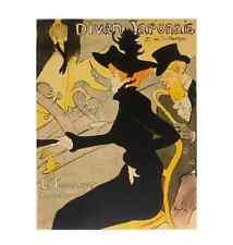 Henri Toulouse-Lautrec Divan Japonais Poster Kunstdruck Bild 48x46cm