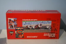Minichamps Ducati 996 World Champion 1999 Carl Fogarty 1:12 Diecast