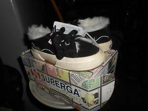 scarpe SUPERGA SPORTIVE COLOR BLACK   N.29 BAMBINO/A