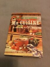 Vintage Ma Cuisine Cookbook 1st English Ed 1965 Auguste Escoffier