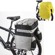 Roswheel Bicycle Travel Pannier Bag Rear Seat Rack Waterproof Cycling Bike Trunk