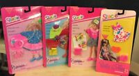 Lot Of 4 Mattel 1992-1993 Barbie - Stacie Feeling  Fun Fashions - C