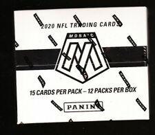 Panini Mosaic NFL Football Cards 12 Cello Fat Pack Box (2020)