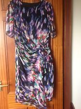 MARKS AND SPENCER TWIGGY MULTI COLOUR DRESS SIZE 16 BRAND NEW WITH TAGS