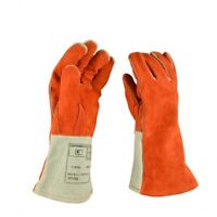 Leather High Temperature Resistant Thickening Welding Gloves for Welder Welding