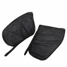 Car Rear Side Window Sun Visor Shade Mesh Cover Shield Sunshade UV Protector 2Pc
