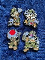 Nintendo Super Mario Challenge Coin SEABEES Engineers Italy Rare Promo Medal PWD