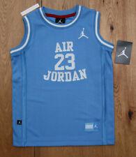 Air Jordan Boys Sleeveless Basketball Jersey ~ University Blue & White ~ Size 6
