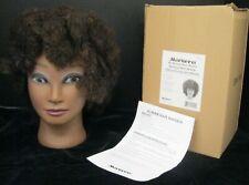 MARIANNA MS. MICHELLE ETHNIC MANIKIN AFRO HUMAN HAIR HEAD MANNEQUIN   NEW!