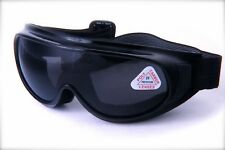 Motorcycle Dirt Bike Goggles Light Weight Anti Fog Single Lens With Sponge Foam