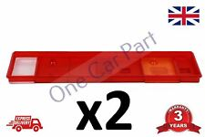 2x REAR TAIL LAMP LIGHT LENS DAF CF XF MAN ERF ECT IVECO RENAULT SCANIA VOLVO