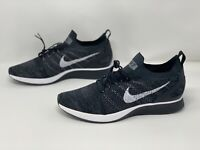 Nike Air Zoom Mariah Flyknit Racer Black Running Shoes, Size 12 NWOB 918264-010