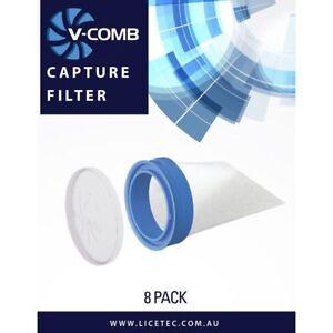 LICETEC V-Comb Capture Filters 8 pack (Lice Tec)