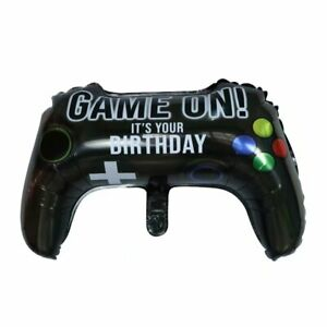 XBOX PLAYSTATION GAME CONTROLLER GAMING BIRTHDAY FOIL HELIUM PARTY BALLOON UK
