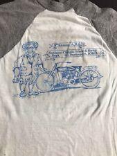 New listing Vtg 80S Harley Davidson Raglan biker t shirt Mens S fit grunge