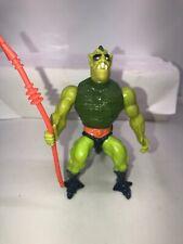 MOTU, Whiplash, Masters of the Universe vintage complete He Man figure M4