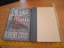 The Last Detective Robert Crais 1st edition Signed book HBDJ