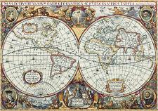 Counted Cross Stitch Kit PANNA PZ-1842 - Map of the world