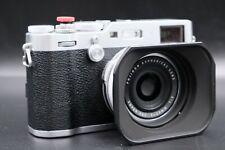 Fujifilm X100F 24.3MP Digital Point and Shoot Camera - Silver