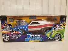Muscle Machines 1969 Dodge Charger 1:18 Scale Diecast 69 Stars & Stripes Car
