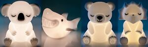❤️KOALA PANDA TEDDY BEAR SHARK DINOSAUR Night Light USB LED Rechargeable❤️