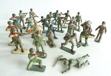 Starlux Bundle Of 25 Soldiers Commando 1/32 Good Condition