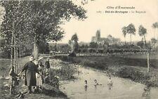 Cote d'Emeraude Dol-de-Bretagne La Baignade France Postcard