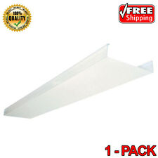 Lithonia Lighting Fixture Replacement LED Fluorescent Lens Cover Part DSB48 4 ft