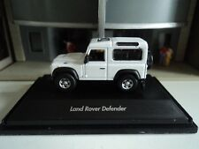 WELLY  LAND ROVER  DEFENDER  WHITE    1/87  HO  DIE CAST